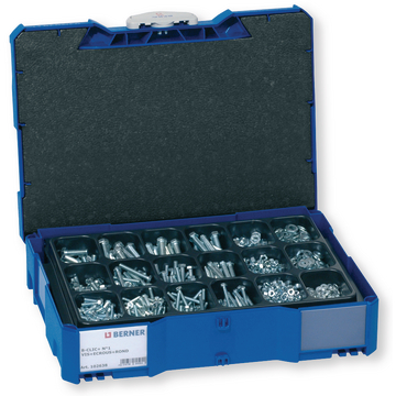 44257 boxe coffre coffret composition BERACLIC+ boîte BERACLIC assortiment sortimo